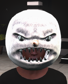 scary snowman mask crygaia wiki